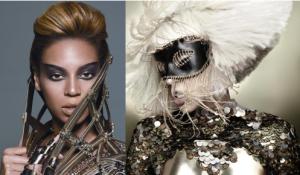 "ohnotheydidnt: Beyonce & GaGa ""Video Phone"" + ""Telephone""_1258228351290"