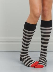 tie stripe knee high at kate spade_1258144990701