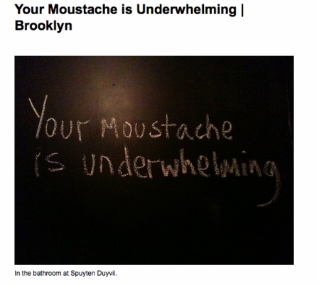 Your Moustache is Underwhelming | Brooklyn on Flickr - Photo Sharing!_1257181535043